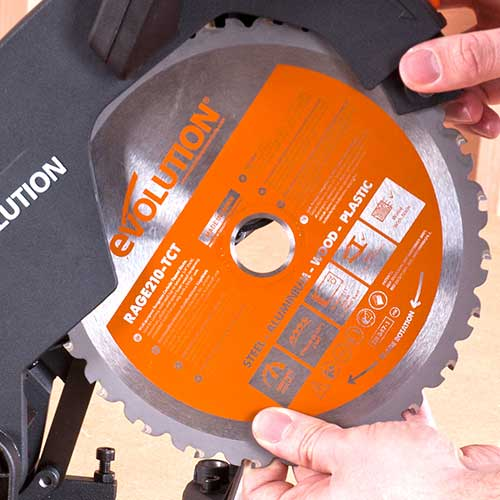 Evolution Multi-Material Cutting Blades