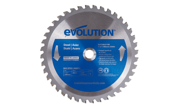 "7-1/4"" Mild Steel Blade Knock Out"