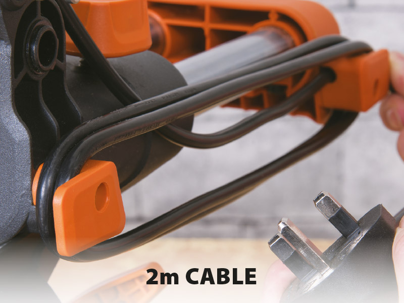 Built-in Cable Storage