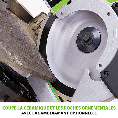 Lame diamant optionnelle