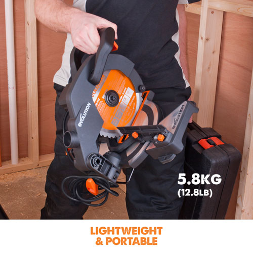 Lightweight & portable compound mitre saw