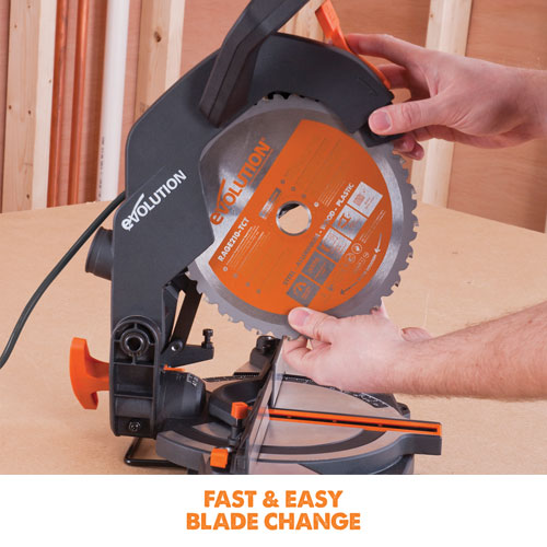 R210CMS fast & easy blade change