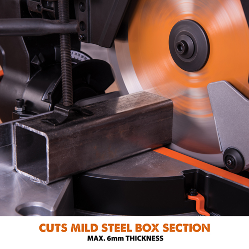 Cuts Mild Steel - MAX. 6mm Thickness