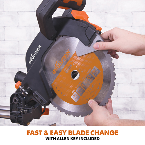 Fast & Easy Blade Change