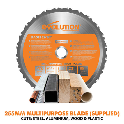 255mm Multipurpose TCT Blade Supplied