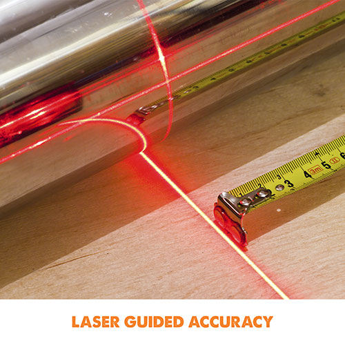 Laser Guided Accuracy