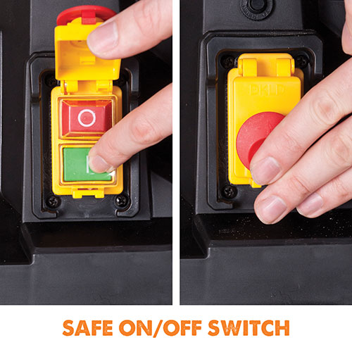Safe on/off switch