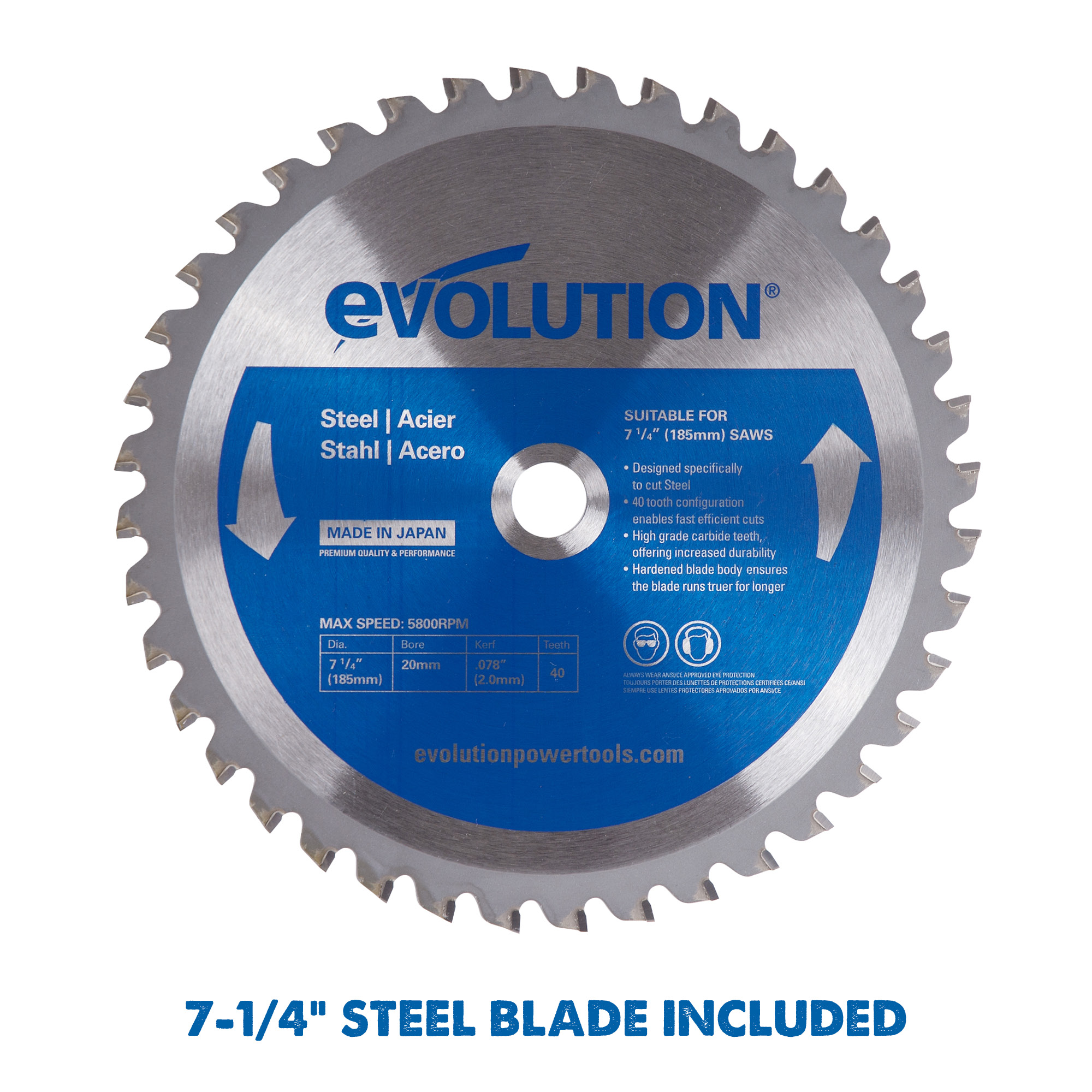 Evolution EVOSAW185 Chop Saw