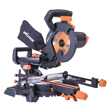 Evolution R210SMS+ Sliding Mitre Saw