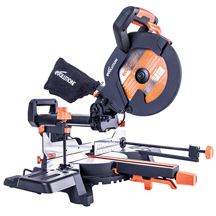 Evolution R255SMS+ Sliding Mitre Saw