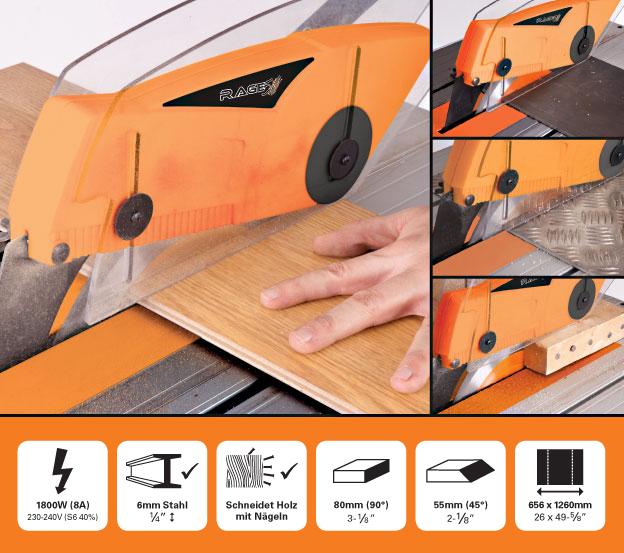 evolution de rage5 255mm 10 tct mehrzweck tischkreiss ge s geblatt. Black Bedroom Furniture Sets. Home Design Ideas